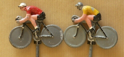 Figurines cyclistes