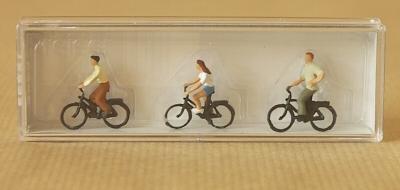 Figurine cycliste
