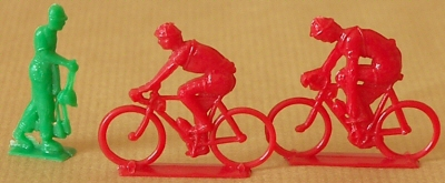 France cyclistes miniatures
