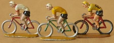 peloton miniature sur Tour de France cycliste miniature