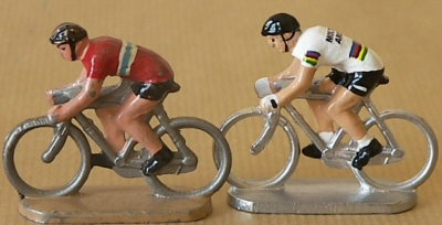 Figurine du Tour de France des cyclistes miniatures