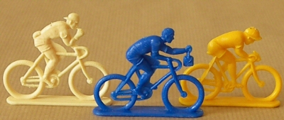 Tour de France cyclistes miniatures