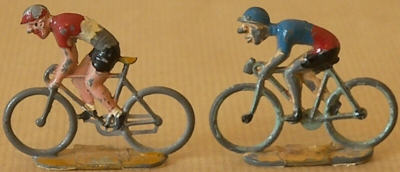 Figurines Tour de France cyclistes miniatures