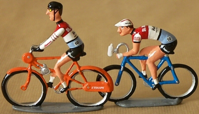 Reproduction cycliste miniature