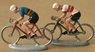 Tour de France cycliste miniature