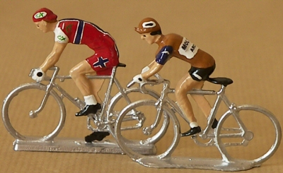 Tour de France cyclistes miniatures