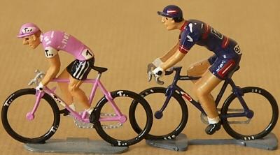 collection cyclistes miniatures
