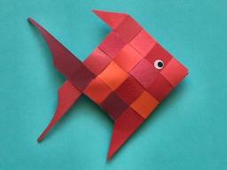 mobile de poisson - Fabriquer Mobile Bebe Origami